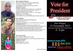 Kandidat Presiden AIPPSA 2016